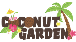Coconut garden resort, home stay vibe bungalow Logo